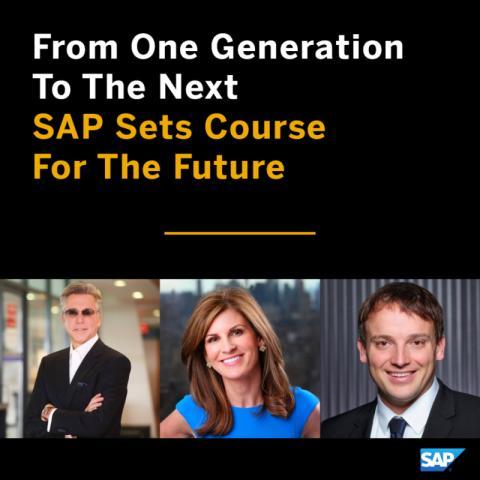 SAP utnevner neste generasjon toppledere