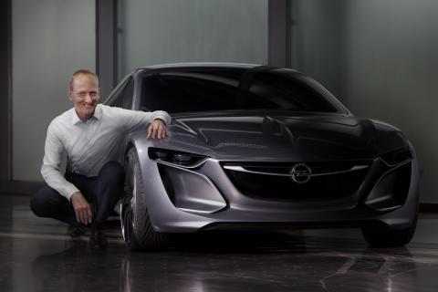 Opel Monza: Former för framtiden