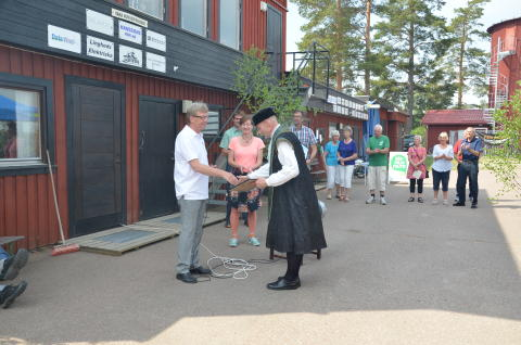 Kråkan Kultur och Teater tar emot vindpeng