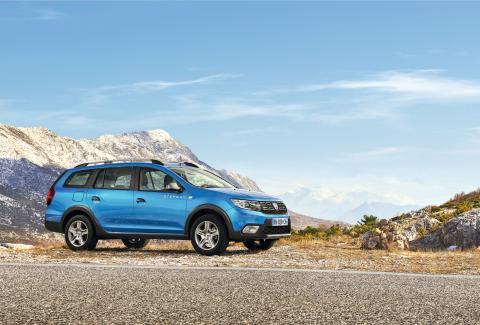 Dacia Logan MCV går offroad