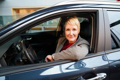 Irene Solstad, Adm.direktør i Kia Bil Norge