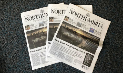 Extra! Extra! The new edition of Northumbria University News is out now