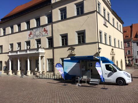 Beratungsmobil der Unabhängigen Patientenberatung kommt am 9. November nach Pirna.