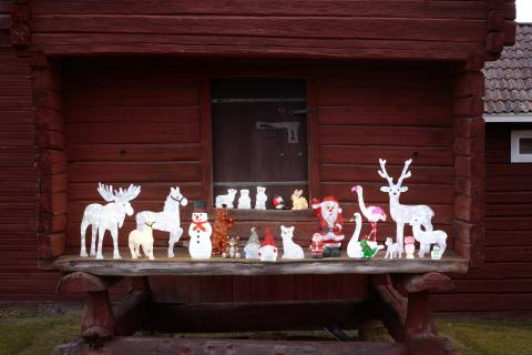 Julen lyser starkt på Rusta!