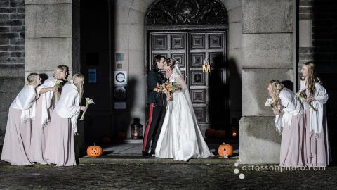 Drop in-vigsel för femte året på Bjertorp Slott