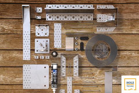 Ergofast etablerar samarbete med  träbyggnationsspecialisten Rothoblaas