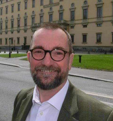 Lars Burman universitetets nye överbibliotekarie