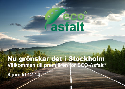 Inbjudan: Peab Asfalt går hela vägen med ECO-Asfalt