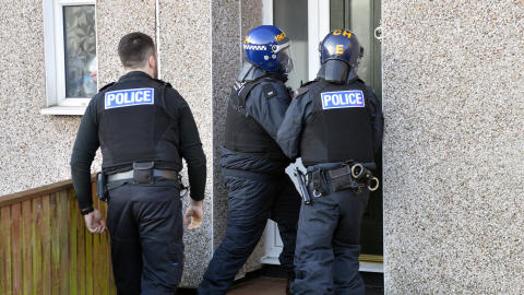Further raids carried out - one week on from the murder of James Taylor