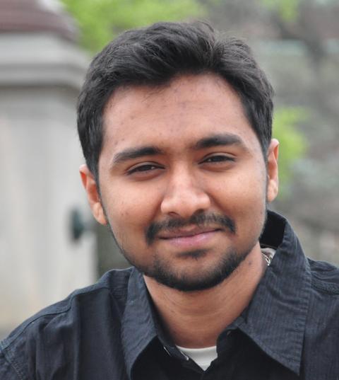Vivek Srinivas, doktorand vid Institutionen för biokemi och biofysik. Foto: Bhavana Ballal