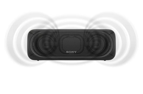 SRS-XB40 von Sony_schwarz_12