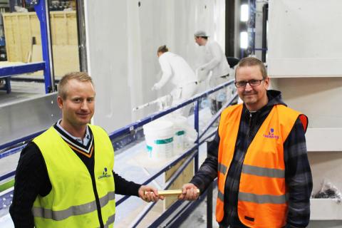 Forsell Maskin levererar linje för takspackling till Lindbäcks nya fabrik