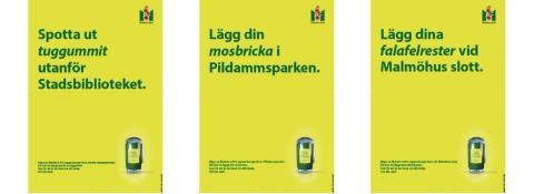 """Årets renhållningskampanj uppmanar: """"Hutta dina salladsrester vid Malmö Opera"""""""