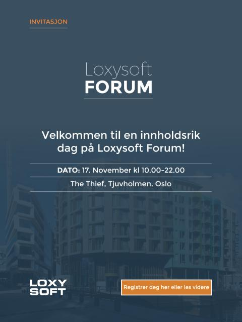 Program Loxysoft Forum 2016