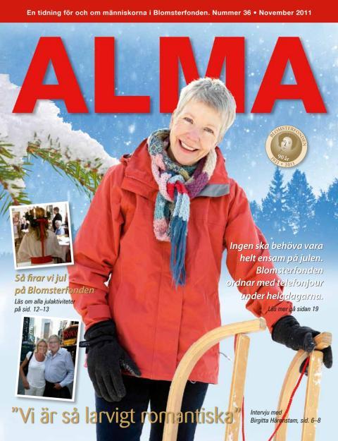 Blomsterfondens medlemstidning Alma, nr 36