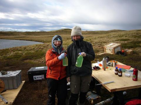 Water samples