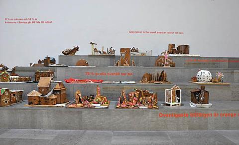 Pepparkakshustävling och utställning 2009 - Prisutdelning på Arkitekturmuseet