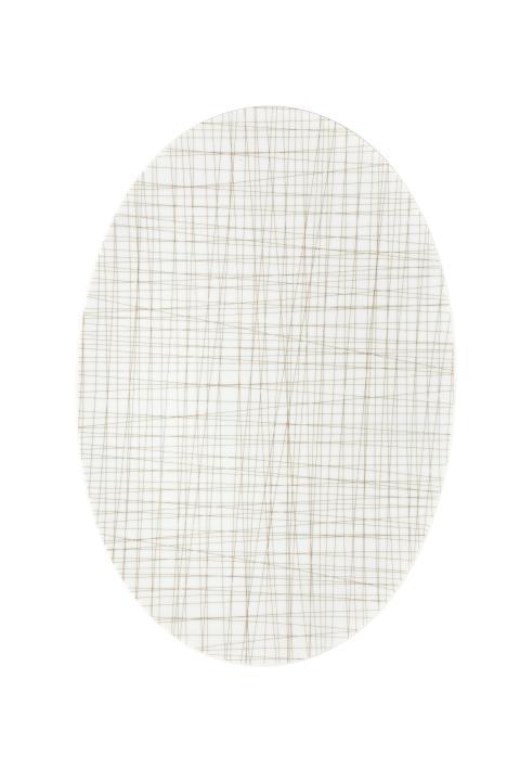 R_Mesh_Line Walnut_Platter 38 cm
