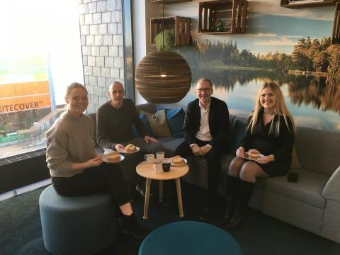 En intensiv veckas arbete i Växjö och Malmö för Familjeterapeuterna Syd.