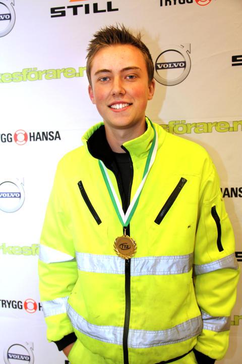 Tom Nilsson från SYAB i Kalmar vann kvaltävling till Yrkes-SM i Linköping