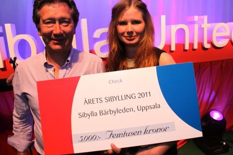 Årets Sibylling 2011 finns i Uppsala