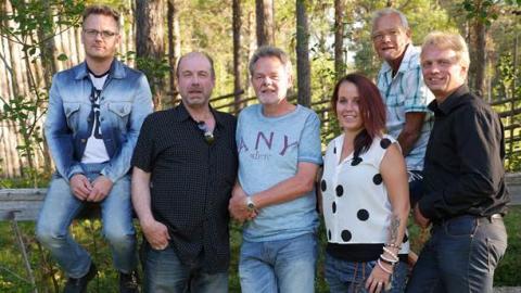 Rock- och countrybandet Midland från Östersund.