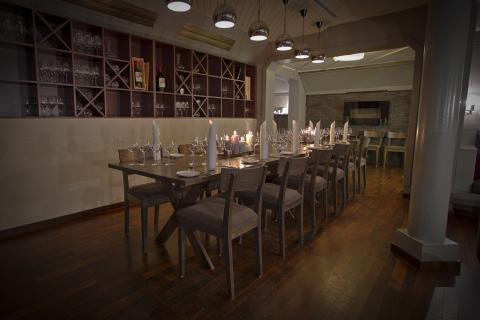 Der Weinkeller im Grand Hotel Egersund