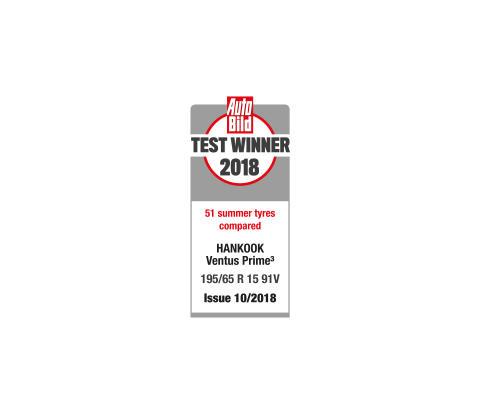 Hankook_VentusPrime3_vinnare_sommardäcktest_AutoBild_2018