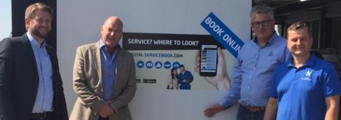 SFVF lanserar helt ny digital servicebok tillsammans med digitalservicebook.com