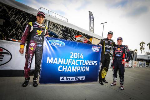 Amerikan Global Rallycross -sarjan valmistajien mestaruus Fordille