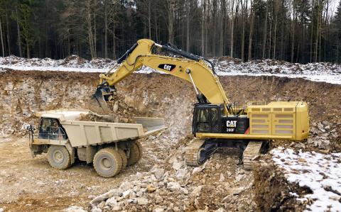 Cat 390F hydraulisk grävmaskin
