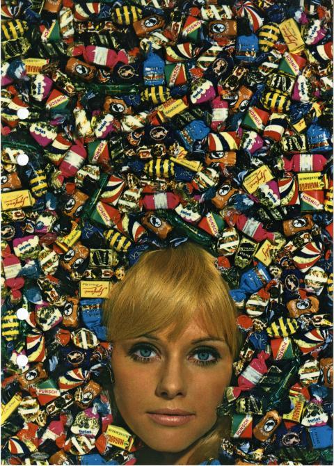 Reklambild för twist, 1964