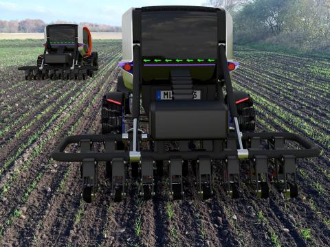 Självkörande elmaskiner kan ersätta dieseltraktorn