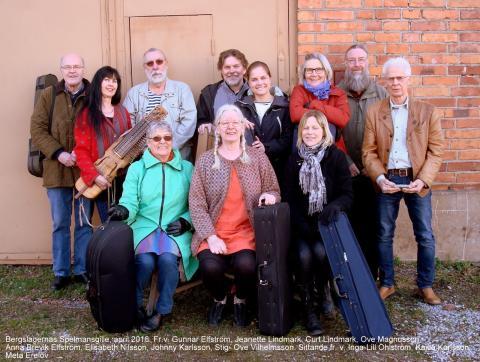 Folkmusikfest i Stripa Gruvmiljö på lördag