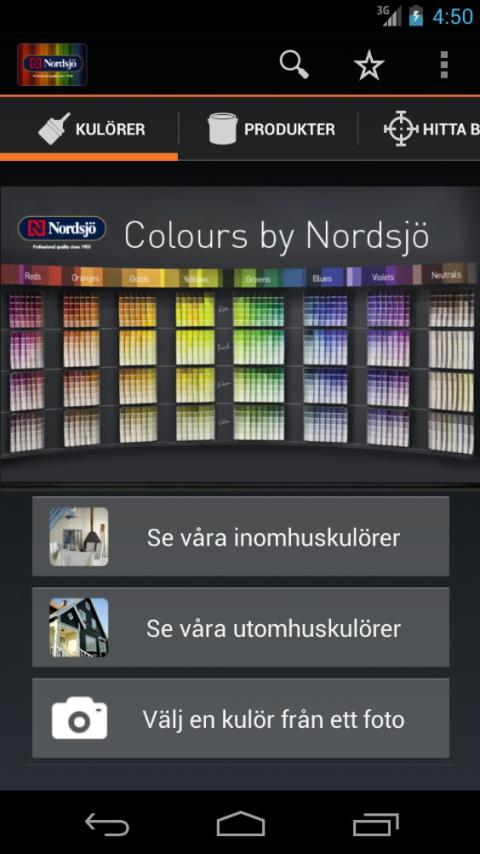 App Colours by Nordsjö