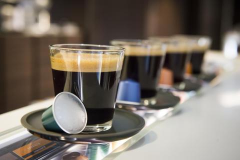 Nespresso kopper