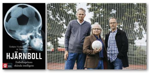 Ny bok förklarar hjärnans betydelse på fotbollsplanen