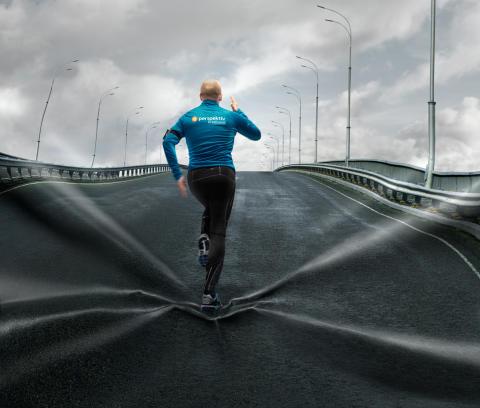 Eight presenterar stolt: Perspektiv Bredband utmanar sina kunder i löpning