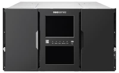 Tandberg och Overland Storage presenterar NEO XL-serie Bandrobotar