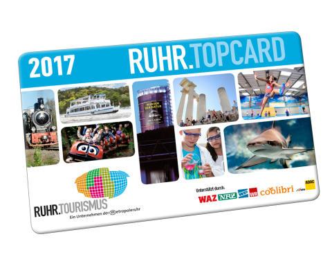 Verkauf der RUHR.TOPCARD 2017 startet am 24. November