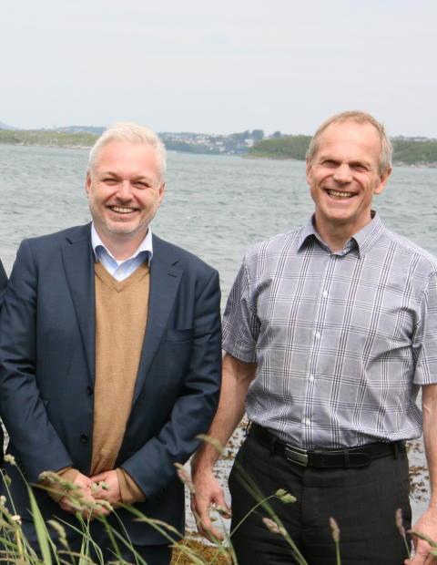 Ole Bjørn Fausa og Sigbjørn Daasvatn Funn i Hafrsfjord og Samlerhuset