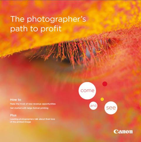 Canon viser besøkende 'veien til økt lønnsomhet' på photokina 2014