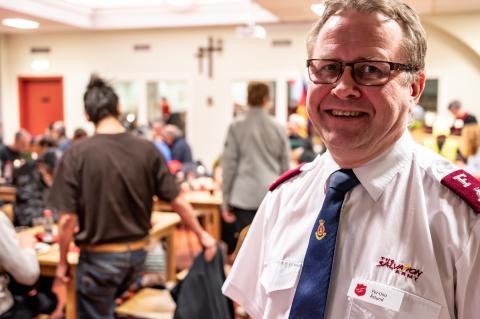Per-Uno Åslund, bitr divisionschef, Frälsningsarmén Sociala Divisionen. Foto: Jonas Nimmersjö