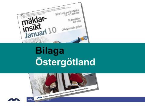 Mäklarinsikt januari 2010: Östergötland