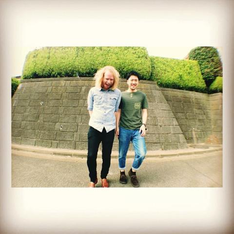 Stu Larsen & Natsuki Kurai pressebillede