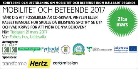 Mobilitet och beteende 2017