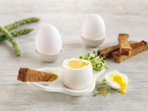 8 av 10 mener egg er sunt