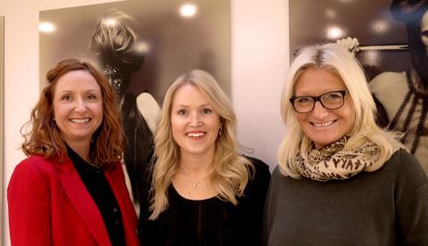 Nanna Øyen, Silje Løken og Cathrine Stamnes