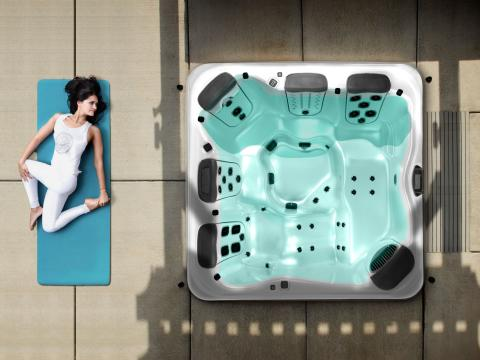 Sport and wellness hot tubs – Fitness Edition: massaging whirlpools for relaxation and recovery