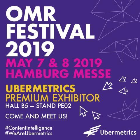 Ubermetrics @OMR 2019